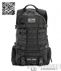 Geigerrig Rig 1600 Tactical Black